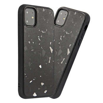 iPhone Apple 11 terrazzo mobile phone case custom cement multicolor protective cover applicable