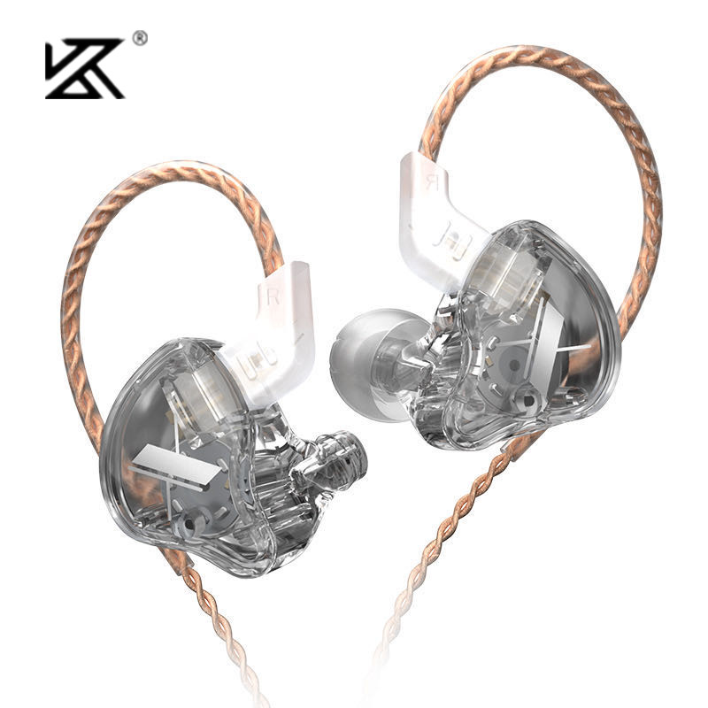 KZ EDX 1DD динамические наушники HIFI бас наушники-вкладыши монитор наушники Спортивная шумоподавляющая гарнитура KZ ZST X ED9 ED12 STM ST1