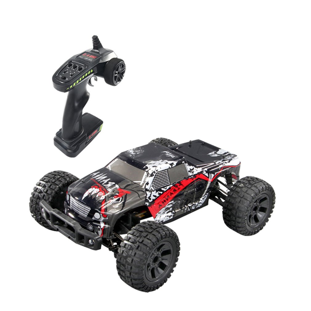 <font><b>1/10</b></font> <font><b>RC</b></font> Car 4WD climbing Car Double Motors Drive Bigfoot Car Remote Control Model Off-Road Vehicle Toys Gift image