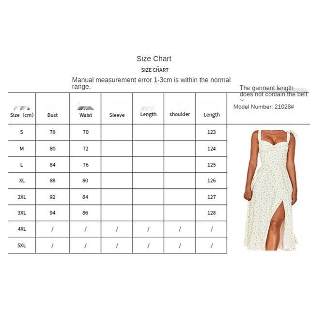 Floral Print Midi Bow Strap Dress  6