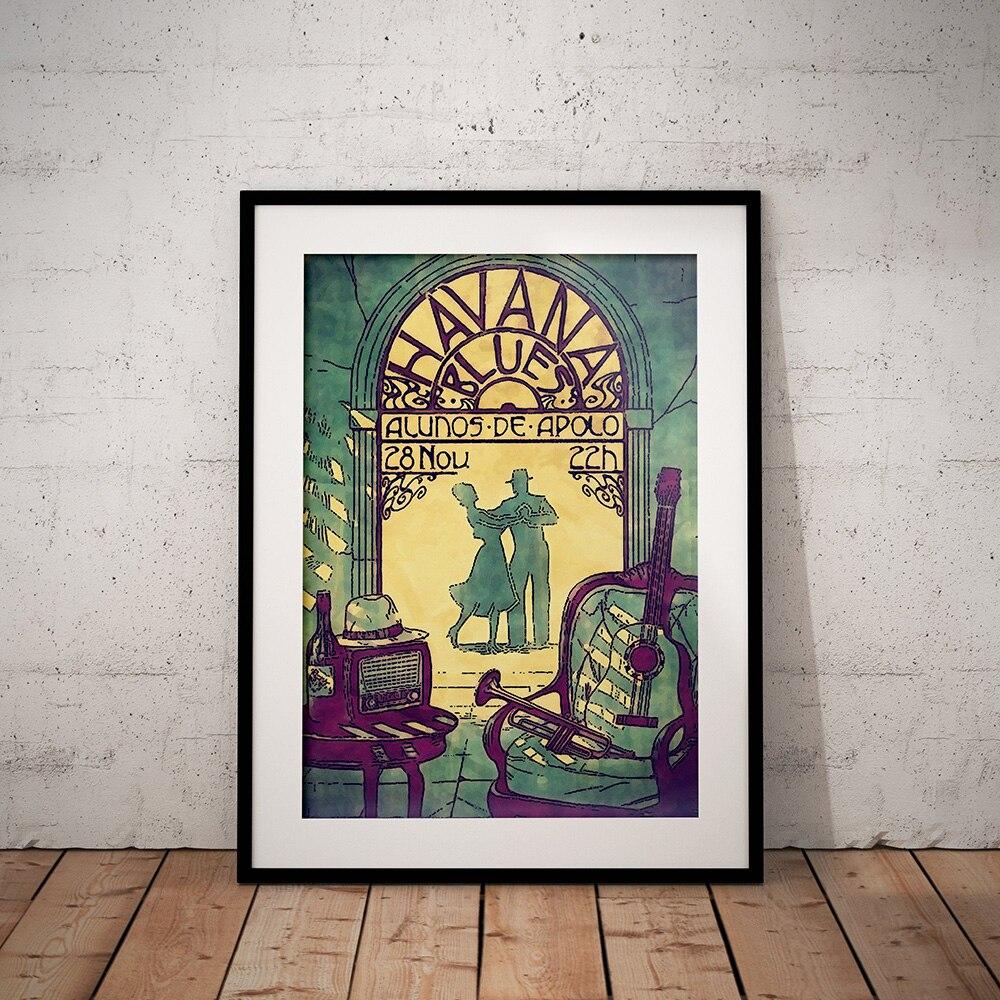 Affiche sur toile dart nordique, peinture sur toile abstraite Vintage, image imprimée pour décor de salon, de maison, sans cadre