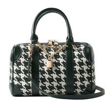 Клетчатая подушка сумка Бостон модный тренд Индивидуальная через