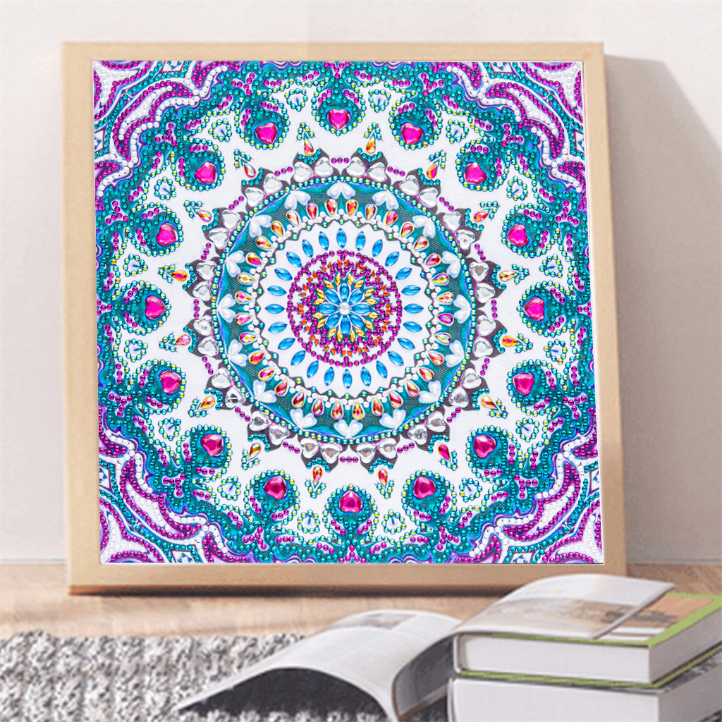 Colorful Flower 5D Special Shaped Diamond Painting Embroidery Cross Stitch DIY