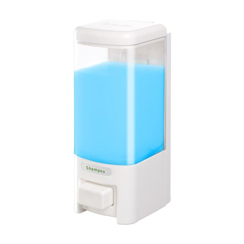 SVAVO Kitchen Liquid Soap Dispenser Wall Mounted Soap Bottle 500ml Capacity Shower Gel Dispenser For Bathroom Hotel Household