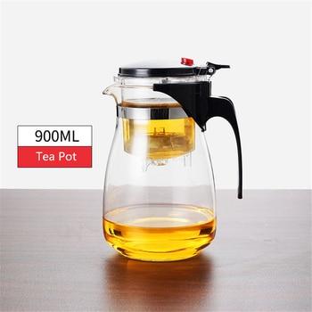 Théière en verre résistant à la chaleur, tasses de thé, 13
