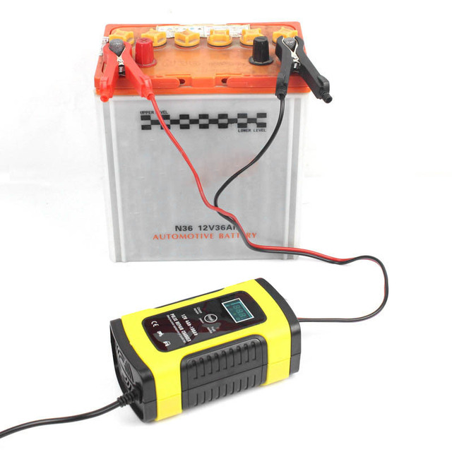 e. 12V 5A pulse accelerator, LCD display, motorcycle battery charger and 12V AGM gel wet automobile battery charger lead acid