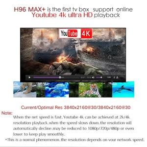 Image 4 - 4GB RAM 64GB ROM 4K Smart TV Box Android 9.0 H96 MAX Plus RK3328 Set top box 2.4/5G WIFI H96Max +  Youtube Media player 2G16G
