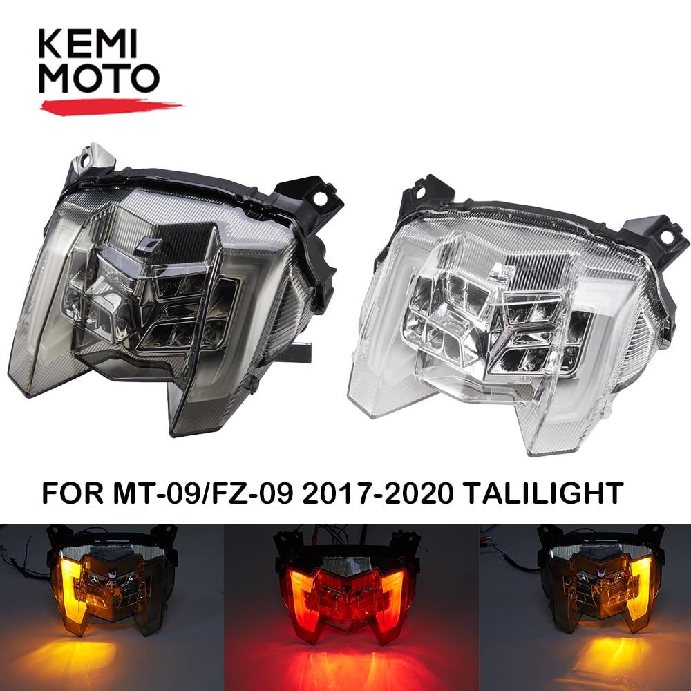 Tail Light For Yamaha MT 09 2019 Brake Light MT09 2018 Taillight MT-09 2017 Motorcycle LED Rear Warning Turn Signal FZ09 FZ-09