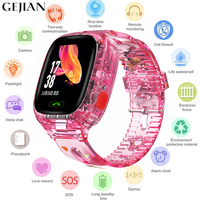 GEJIAN kids watches waterproof wifi tracker children SOS emergency call display positioning remote camera call children watch