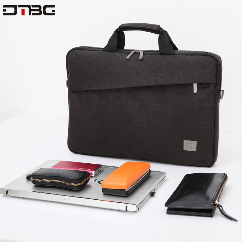 DTBG Brand Laptop Briefcase For 15.6 Inch Laptop Tablet Bag Waterproof Multi-functional Business Computer Handbag Cross-body Bag