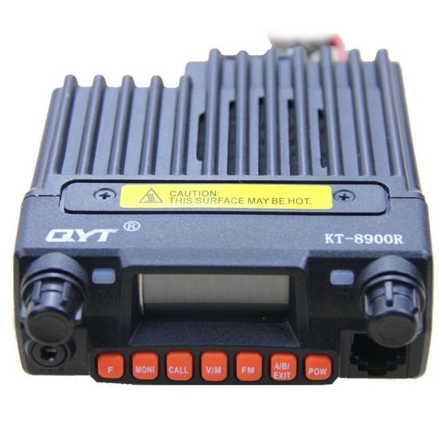 QYT KT 8900R 25W tri band Transceiver 136 ~ 174 i 240 260 i 400 ~ 480MHz radiotelefon samochodowy 8900R