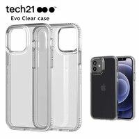 Techa21 Evo-funda transparente oficial para iPhone, funda super anticaída para iphone 12 mini, 12/12 pro/12 pro Max