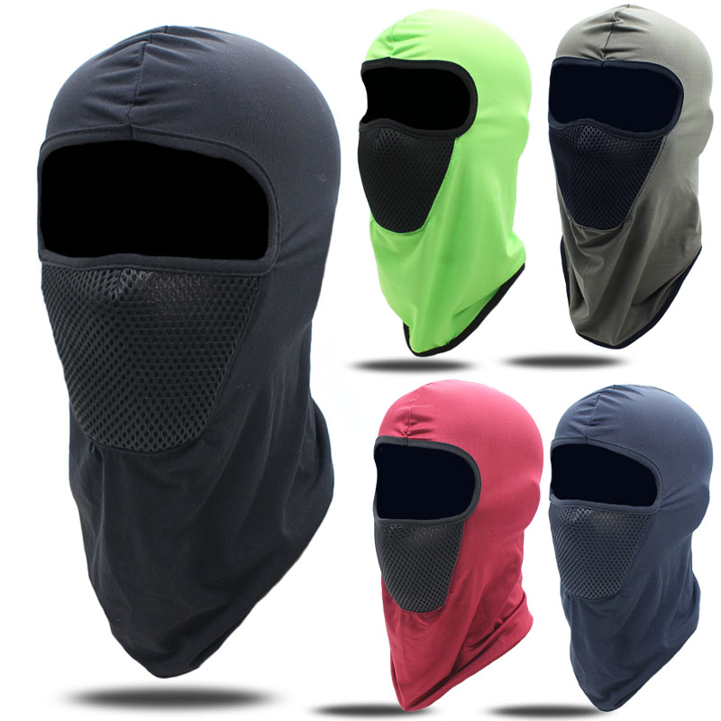 Motorcycle  Balaclava Full Face Mask Warmer Windproof Breathable Cycling Ski Shield Anti-UV Men Sun Hats