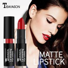 24 Hours Long Lasting Highly Saturated Lipstick Waterproof Makeup Lip Velvet J1Q1 Liner lipstick Matt Gift U3R8