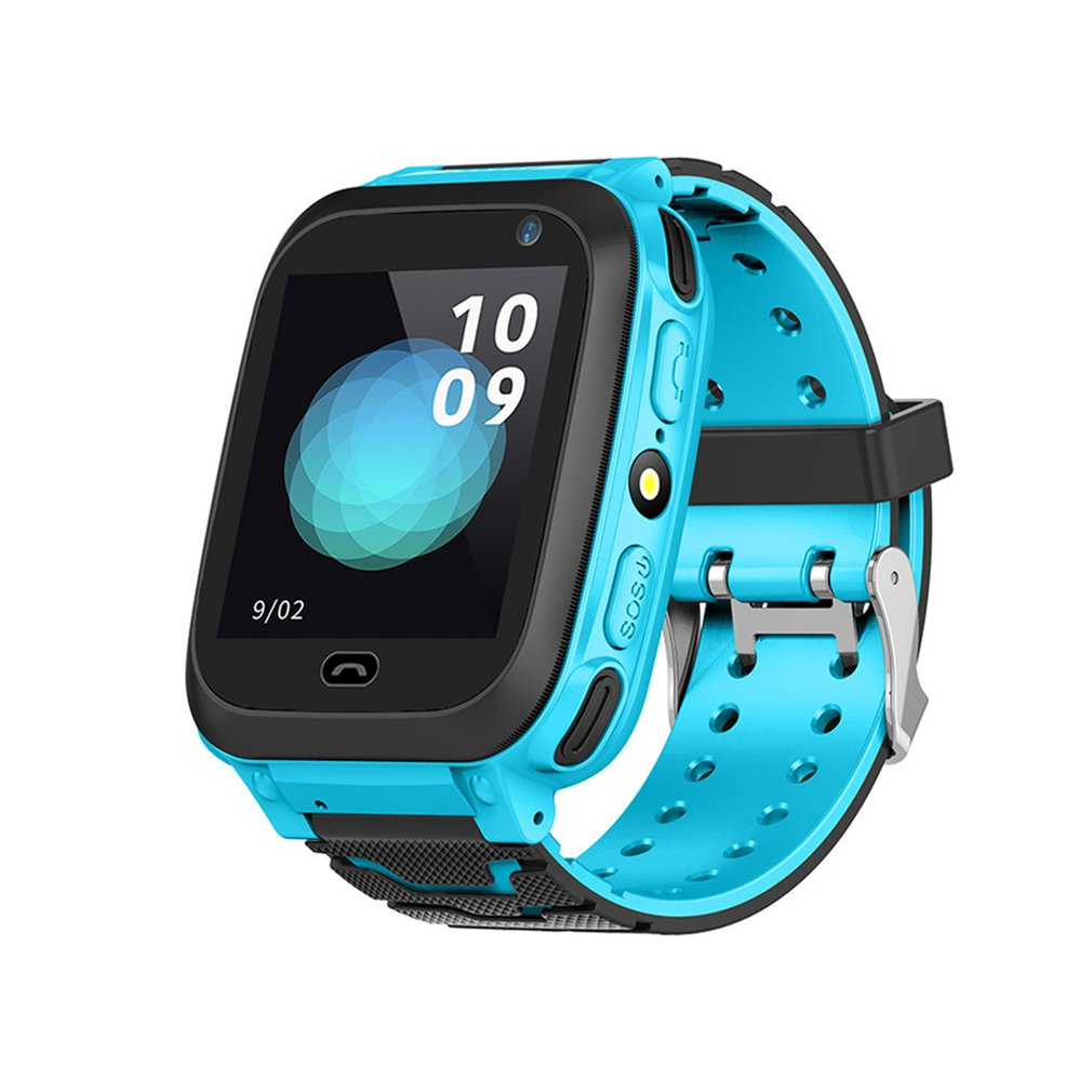 DS38 Anti Lost Child GPRS Tracker SOS Positioning Tracking Smart Phone Kids Safe Watch Birthday Gifts For Girls Boys