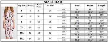 Dress 2020 Boho Print Short Sleeve  5