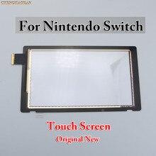 Painel de substituição de vidro digitador da tela de toque lcd para nintendo switch console