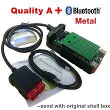 Quality A For vd tcs pro obd obd2 obdii scanner 2017.R3 dvd optional usb bluetooth car truck diagnostic tool