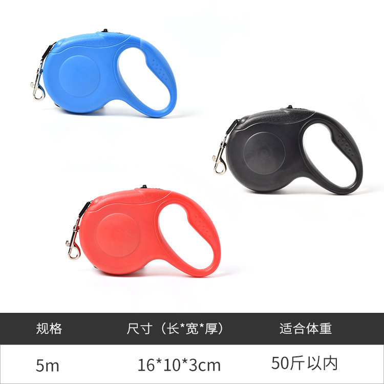 Pet Supplies Dog Hand Holding Rope Automatic Retractable Pet Law Bucket Teddy Dog Useful Product