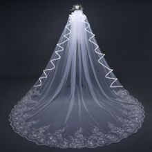 custom made 3 meter veils