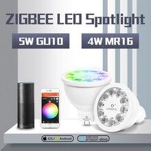 Gledopto Smart Home Kleur En Dual Wit 5W GU10 4W Mr16 2700 6500K Led Spotlight Zigbee zll Werken Met Amazon Alexa Echo Puls
