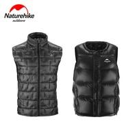 Naturehike Men Women Goose Down Gilet Water Resistant Vest Outdoor Camping Hiking Thick Warm Sleeveless Jacket Waistcoat