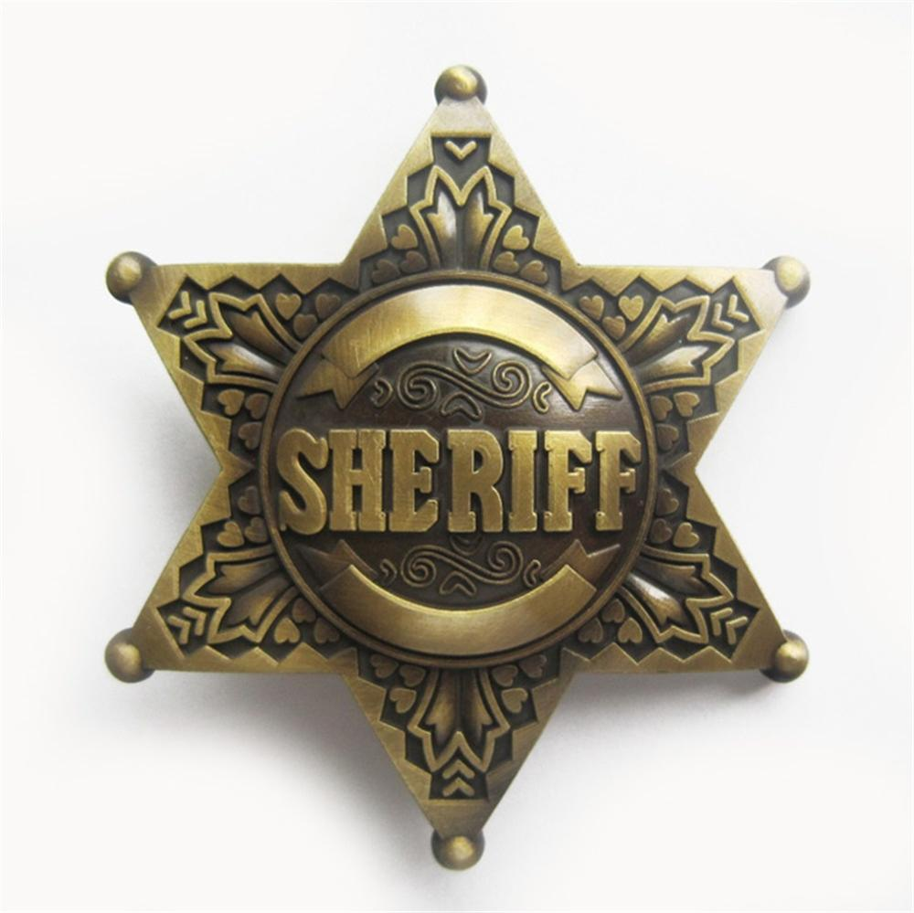 Military Belt Buckle metal Bronze Star Medal NEW