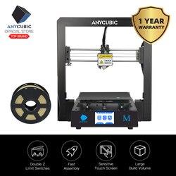 ANYCUBIC I3 Мега DIY 3D принтер полная металлическая рамка Impresora TFT сенсорный экран Высокая точность 3d принтер экструдер impressora