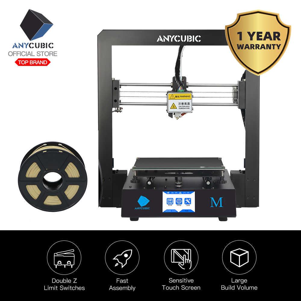 Anycubique I3 Mega bricolage 3D imprimante cadre en métal complet Impresora TFT écran tactile haute précision 3d imprimante extrudeuse impressora