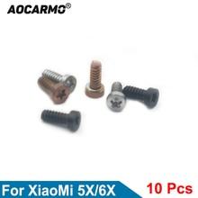 Screws Bottom Xiaomi Gold/black Aocarmo for 5X/6X Mi5x Dock Housing-Screw-Replacement-Part