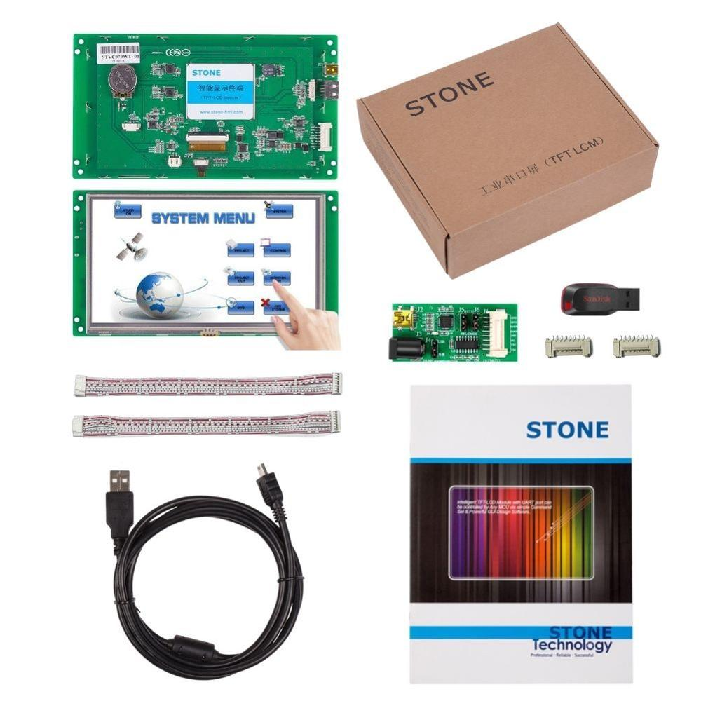 7 <font><b>Inch</b></font> HMI TFT <font><b>LCD</b></font> <font><b>Display</b></font> Programmable Logic <font><b>LCD</b></font> Controller Touch Screen for Equipment Use Customize Available image