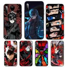 Persona 5 p5 Stars Phone Case For Huawei P Y Nova mate 20 30 10 40 pro lite smart Cover Fundas Coque