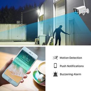 Image 2 - Besder Audio Wifi Camera 1080P Onvif Draadloze Alarm Push Icsee P2P 2MP Cctv Bullet Outdoor Ip Camera Met Sd card Slot Max 64Gb