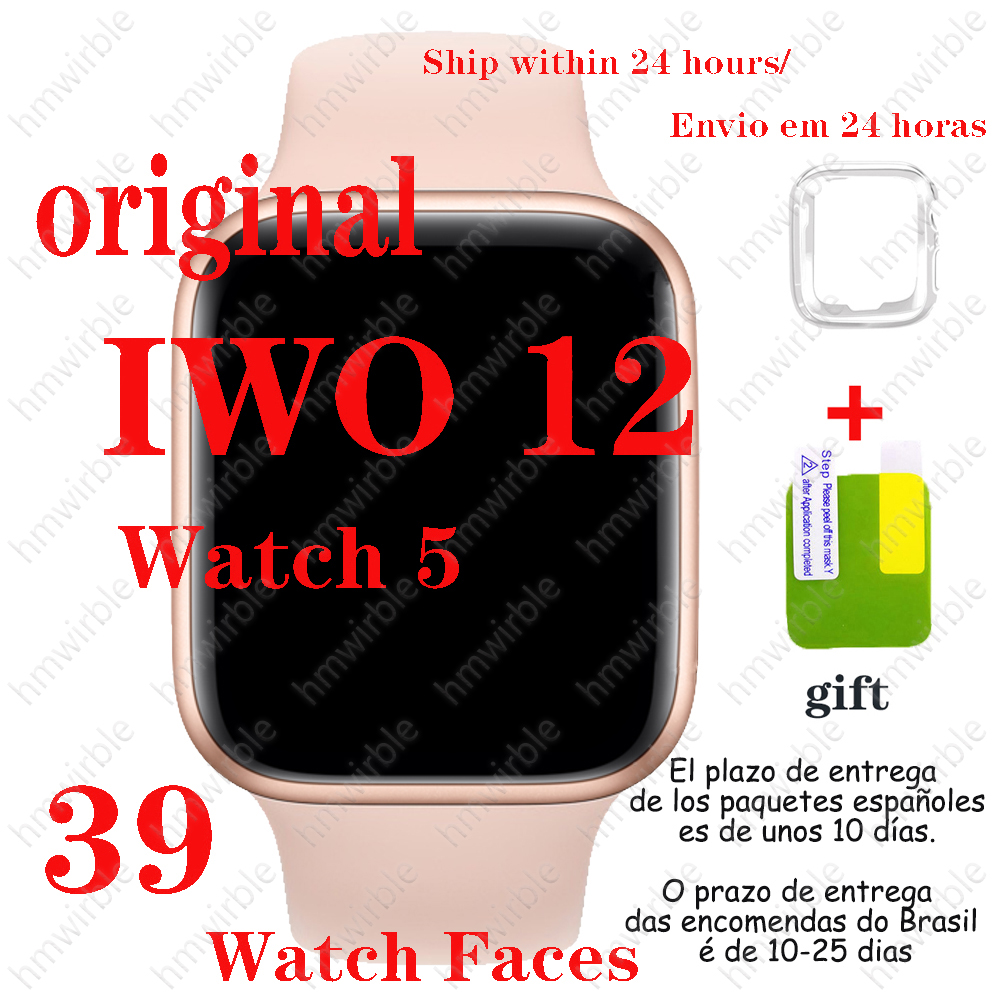 Smart-Watch Finness Phone-Series Andriod Bluetooth Call Iwo 12 40mm 44mm 12-Pro Men IOS