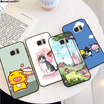 Cat 2 Soft TPU Case Cover For Vivo V3 V5 V7 V9 V17 V19 Y75 Y79 Y85 X9 X9S Y91i Y91C Max Plus Lite Pro image