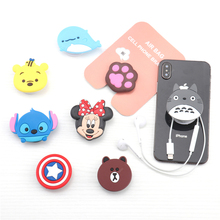Cartoon Mobile Phone Holder Stretch Bracket Air Bag Phone Expanding Stand Cute Finger Grip Holder for Iphone 6 7 8 X Xs Xiaomi