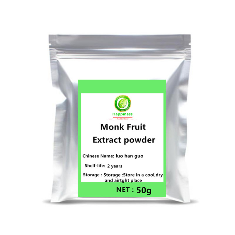 Hot Sale Zero Calories Sweeteners Monk Fruit Extract Powder Luo Han Guo Accessories Set Mogroside With Best Flavor Anti Cancer .