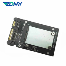 ZOMY 2.5'' MSATA To SATA Hard Disk Card for Laptop SSD Adapter Converter Card Accessories Internal Storage Ssd Case for Laptops