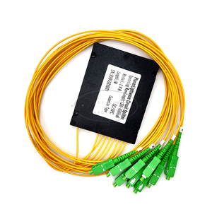 Image 5 - SC APC 1x8 PLC Fiber optical splitter einzigen modus mit SC APC stecker FTTH