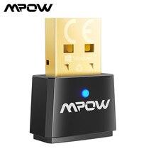 MPOW Bluetooth 5,1 USB адаптер 2-в-1 Беспроводной Bluetooth Dongle приемник передатчик аудио адаптер для настольных Мышь ПК
