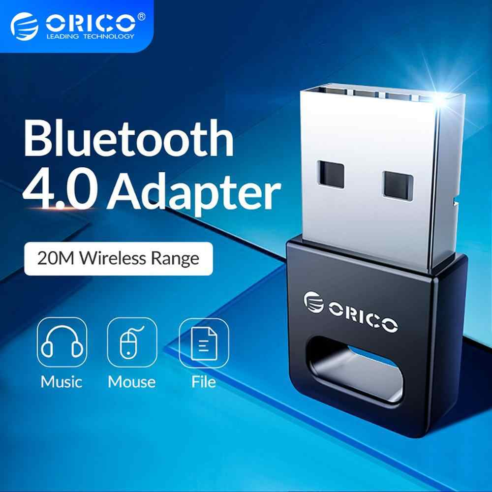 ORICO-Mini adaptador USB inalámbrico, Bluetooth 4,0, para Windows XP Vista 7/8/10, conecta PC a audífonos con Altavoz Bluetooth Mouse