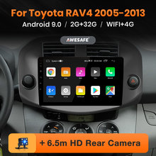 AWESAFE PX9 para Toyota RAV4 2005-2013 auto Radio Multimedia reproductor de video GPS No 2din 2 din Android 9,0 2GB + 32GB(China)