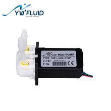 YWfluid YW01 Max Flow 150ml/Min High Quality Multi-Purpose Water Pump With STEP Motor Used For Chemical Dosing Liquid Dispenser