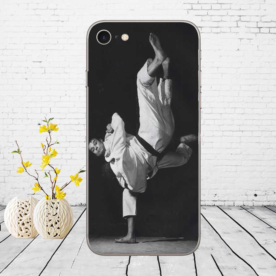 41DD Judo Molle Del Silicone Della Copertura di Caso per iphone 5 5s se 6 6s 8 più di 7 7 plus X XS SR caso di MAX