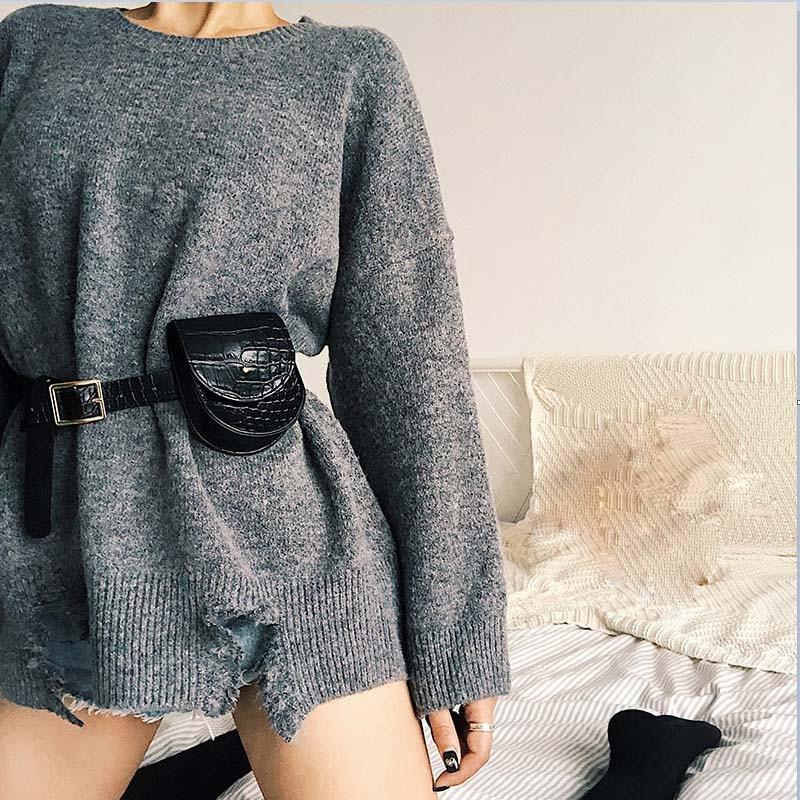 PU Leather Waist Bag Women 2019 Fashion Fanny Pack Retro Mini Travel Chest Belt Bag Waterproof Bum Bags Girls Small Purse Wallet