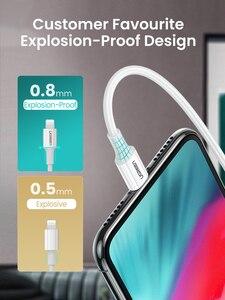 Image 4 - كابل USB من Ugreen MFi من النوع C إلى البرق لهواتف iPhone 12 Mini Pro Max 8 PD 18 وات 20 وات كابل بيانات سريع لشحن USB C لأجهزة Macbook Pro