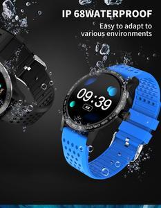 Image 5 - WearpaiT2 montre intelligente hommes Fitness Tracker moniteur de fréquence cardiaque tension artérielle Bluetooth alarme appel entrant montre étanche à leau hommes