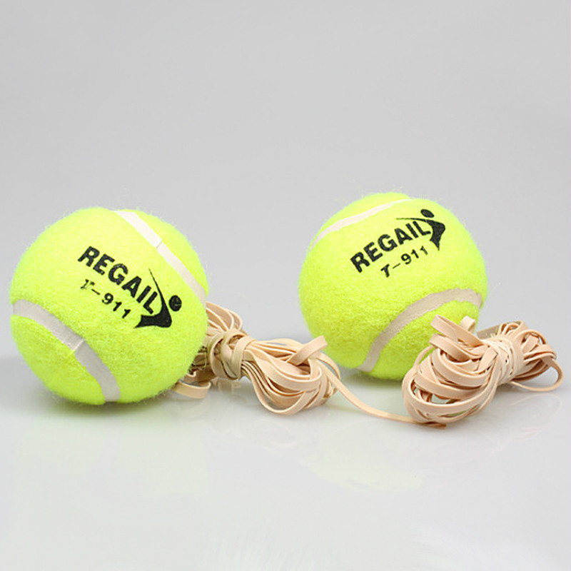 Advanced Tennis Trainer, Sparring, High-elastic Rope Training Tennis Balls Outdoor Sports Exercise