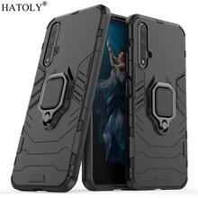 For Huawei Nova 5T Case Cover for Huawei Nova 5T Finger Ring Phone Case Hard PC TPU Shell Bumper Armor Case For Huawei Nova 5T losi 5t middle body cover 152002
