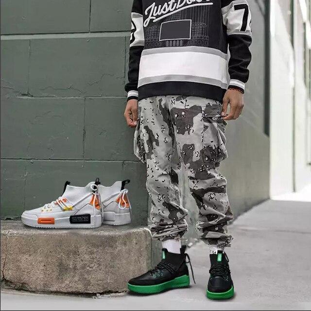 Men Mesh Shoes Rubber Bottom  Wear-Resistant Sneakers 3